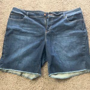 Lucky Brand Plus Size 22 Bermuda Shorts